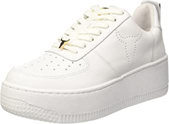Windsor Smith Shoes Woman Sneakers with Platform RACERR Bianco