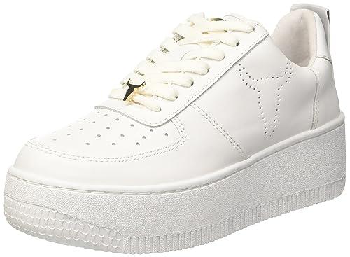comprare popolare 7e964 e4516 Windsor Smith Racerr, Sneaker a Collo Alto Donna