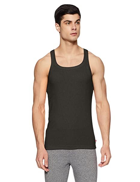 568d77eb613b1 Jockey Men s Cotton Square Neck Vest  Amazon.in  Clothing   Accessories