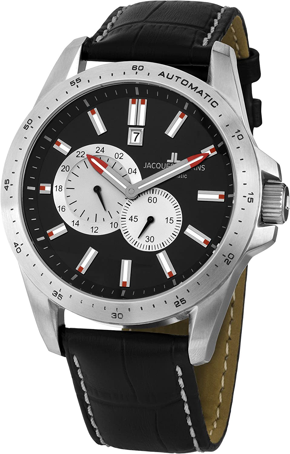 Amazon.com: Jacques Lemans Liverpool Automatic Mens Watch Solid Case: Jacques Lemans: Watches