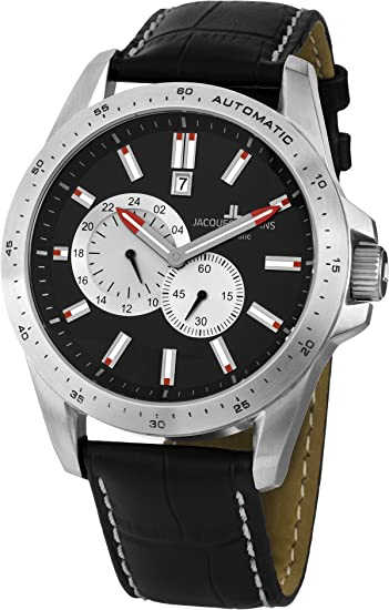 Jacques Lemans Liverpool Reloj Automático para hombres Carcasa Maciza: Amazon.es: Relojes