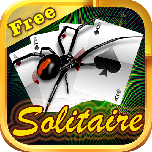 Spider Solitaire Free for Kindle - Solitare Blitz Classic Game Pack Plus HD Blast ()