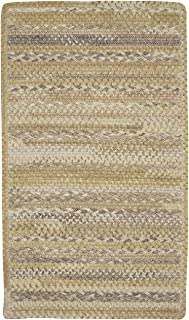 "product image for Harborview Natural 7' 6"" x 7' 6"" Cross Sewn Rectangle Braided Rug"