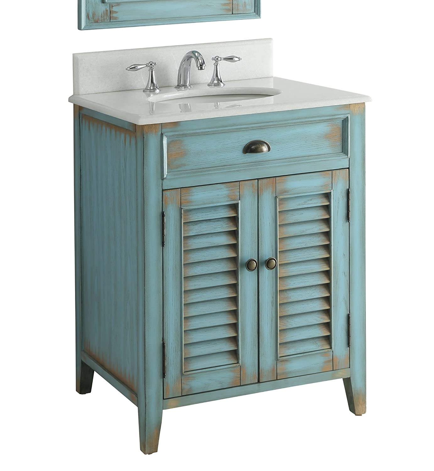 Amazoncom Benton Collection 26 Cottage Look Abbeville Bathroom