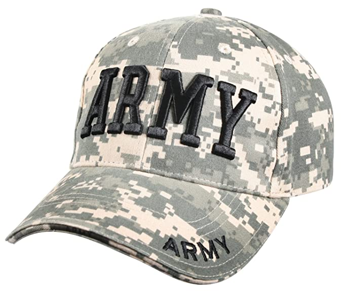 Amazon.com  Rothco Deluxe Army Embroidered Low Profile Insignia Cap ... 6344342323