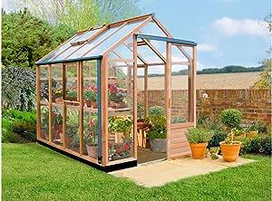 Juliana Classic 4.4 - Invernadero (cristal de seguridad): Amazon.es: Jardín