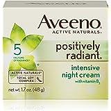 Aveeno Positively Radiant Intensive Night Cream With Vitamin B3, 1.7 Oz