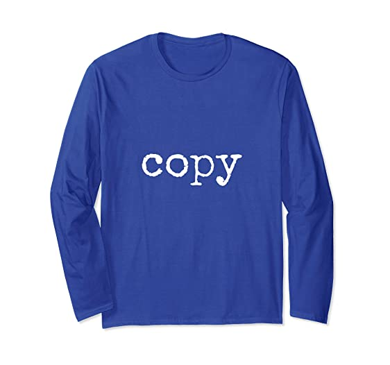 7c560ed99 Unisex Matching Copy Paste ctrl + c Father's Day Gift Family Tshirt Small  Royal Blue