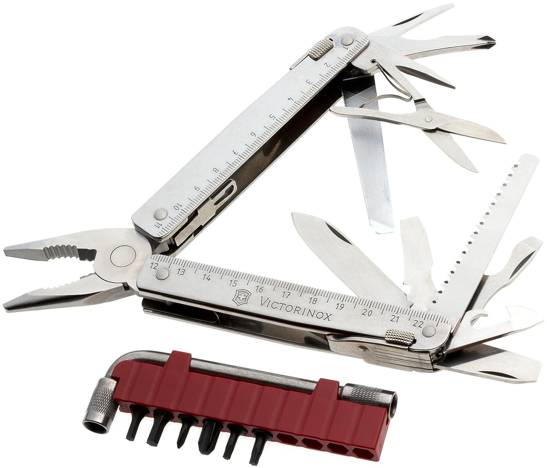 Victorinox Swiss Tool X Plus en funda de piel Horizontal, 3,0337.LH: Amazon.es: Deportes y aire libre