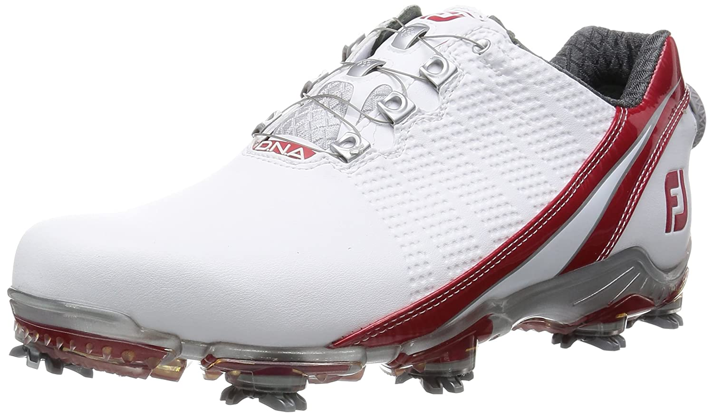 [フットジョイ] FootJoy ゴルフシューズ DNABoa B016NQS38K 25.5 cm Wide ホワイト/レッド