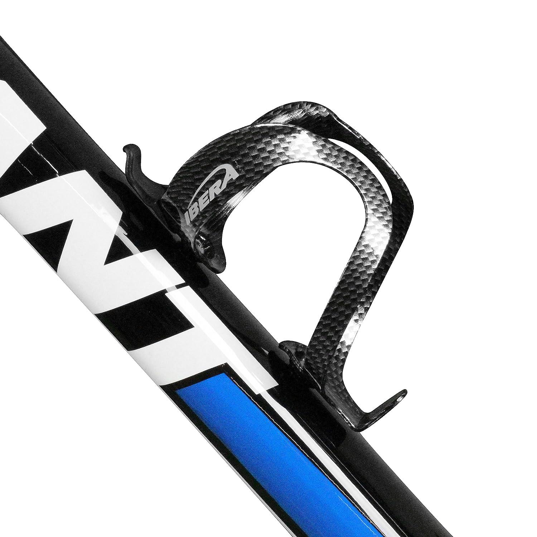 Ibera Soporte Ligero de Aluminio para Botellas de Agua (Bicicleta), Carbon Pattern: Amazon.es: Deportes y aire libre