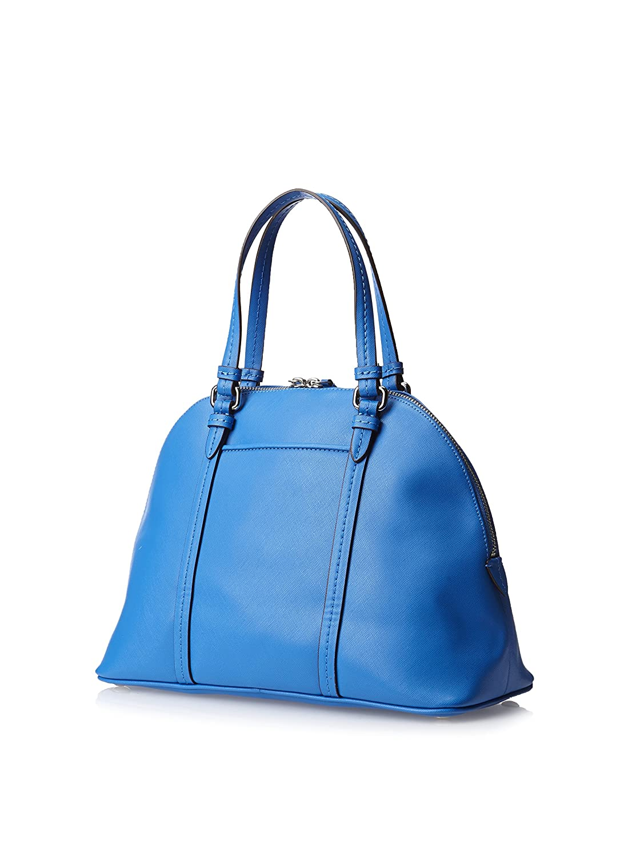 b7f09858f7 ... czech amazon coach peyton cerulean blue saffiano leather cora domed  satchel style 25671 shoes 611f4 3802c