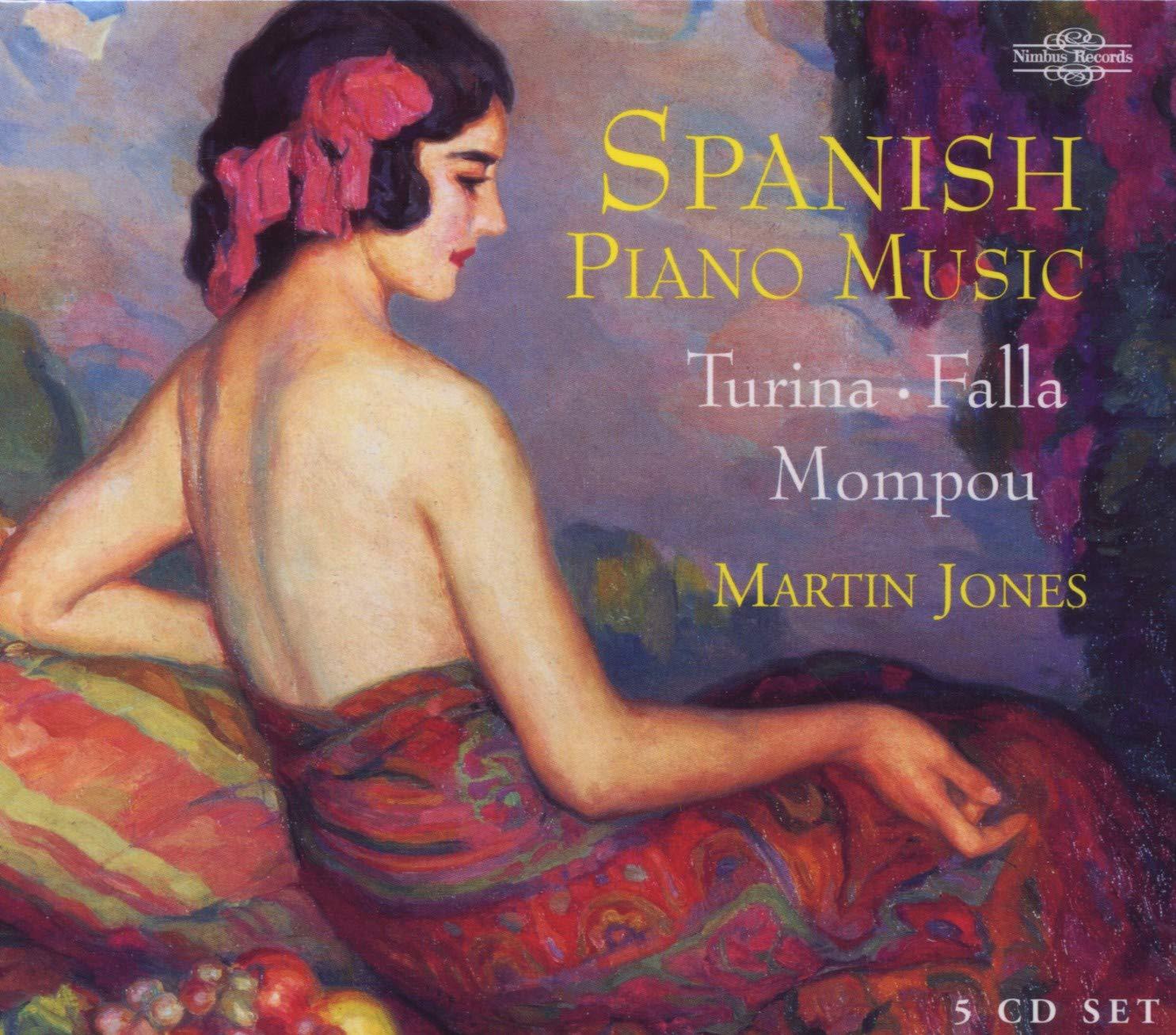 Spanish 100% quality Clearance SALE! Limited time! warranty Piano Music: Turina Falla Mompou