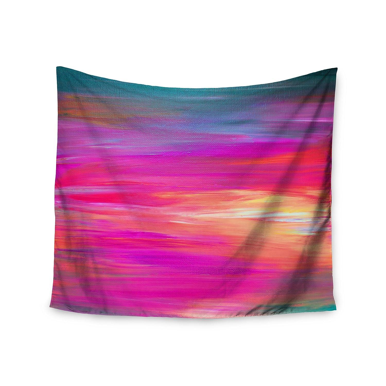 51 x 60 Wall Tapestry Kess InHouse EBI Emporium Bright Horizons 2 Magenta Multicolor Painting