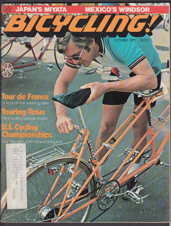 BICYCLING Windsor Professional Miyata S & T Models road tests Iran 10 1975 at Amazons Entertainment Collectibles Store