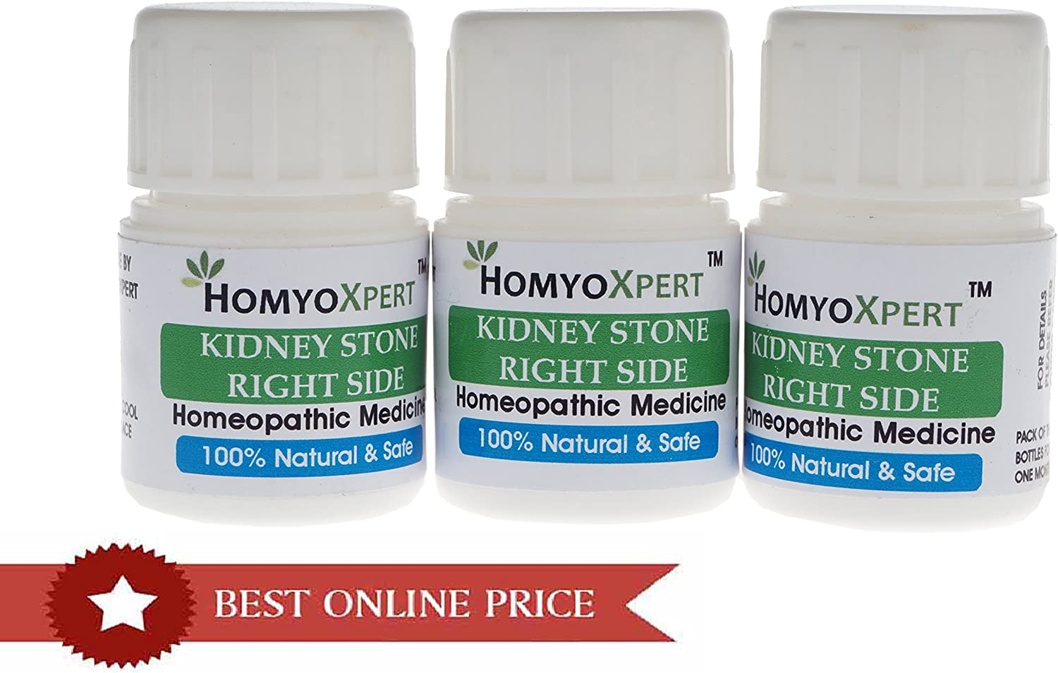 Amazon Com Homyoxpert Right Kidney Stone Homeopathic Medicine For One Month Health Personal Care