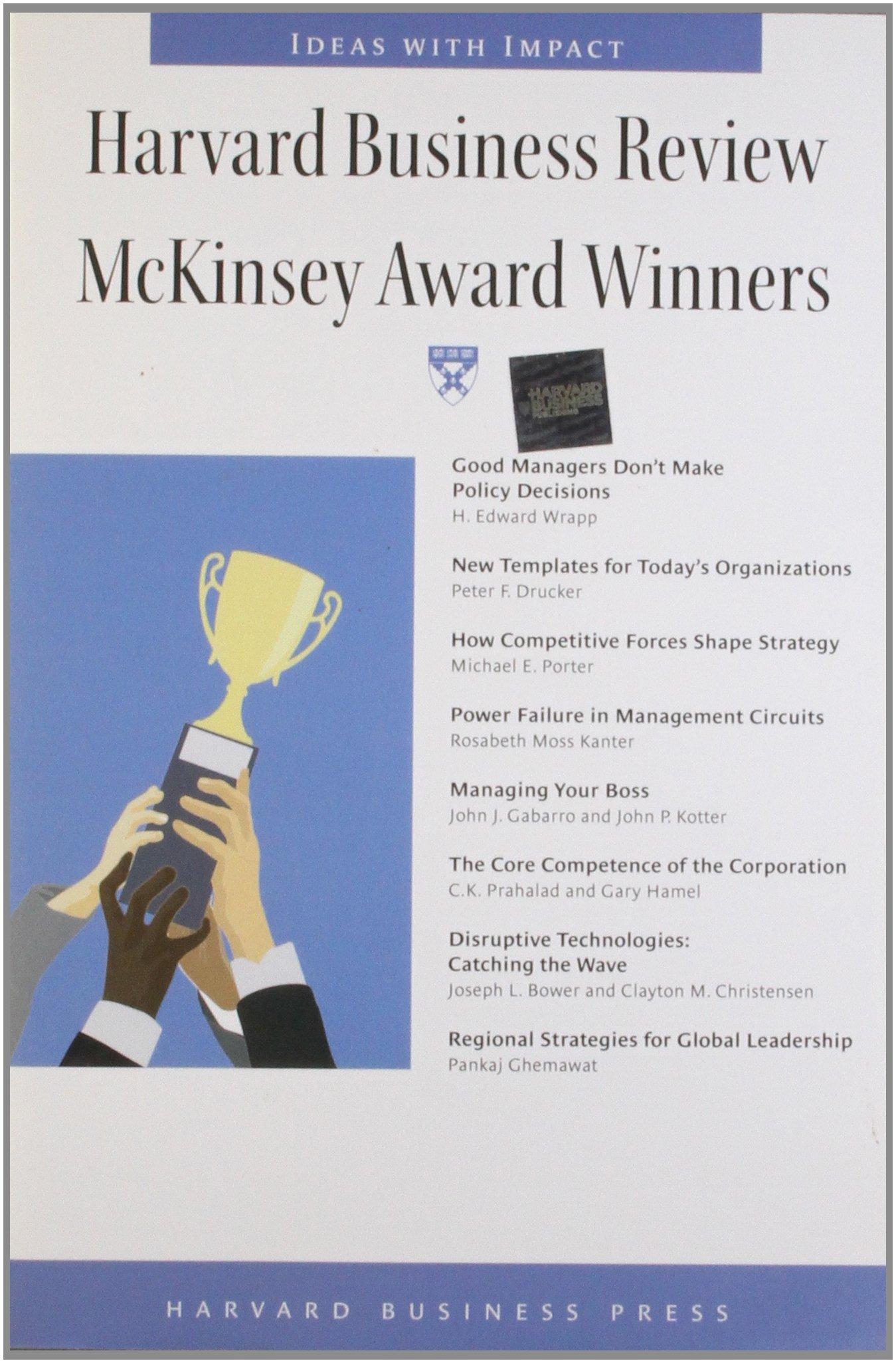 Harvard Business Review McKinsey Award Winners (Harvard Business Review Paperback Series) ebook