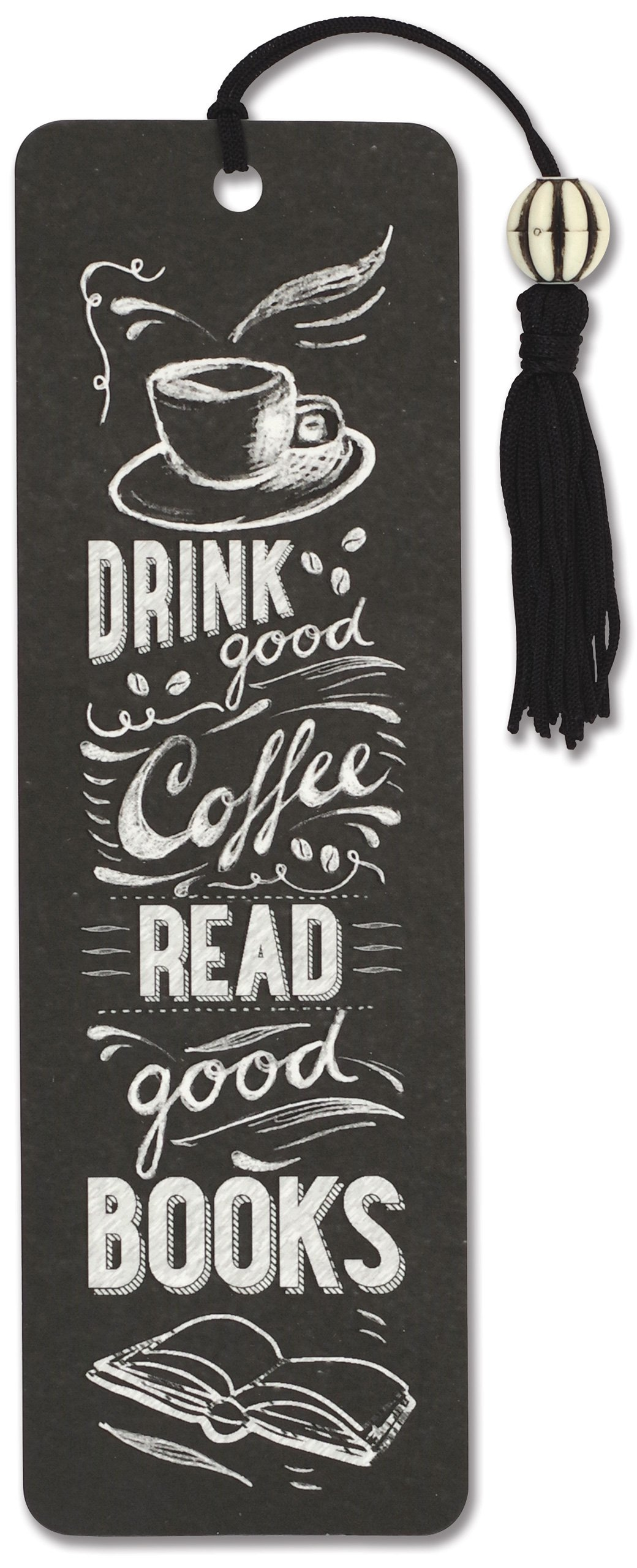 Coffee Books Beaded Bookmark Pauper product image