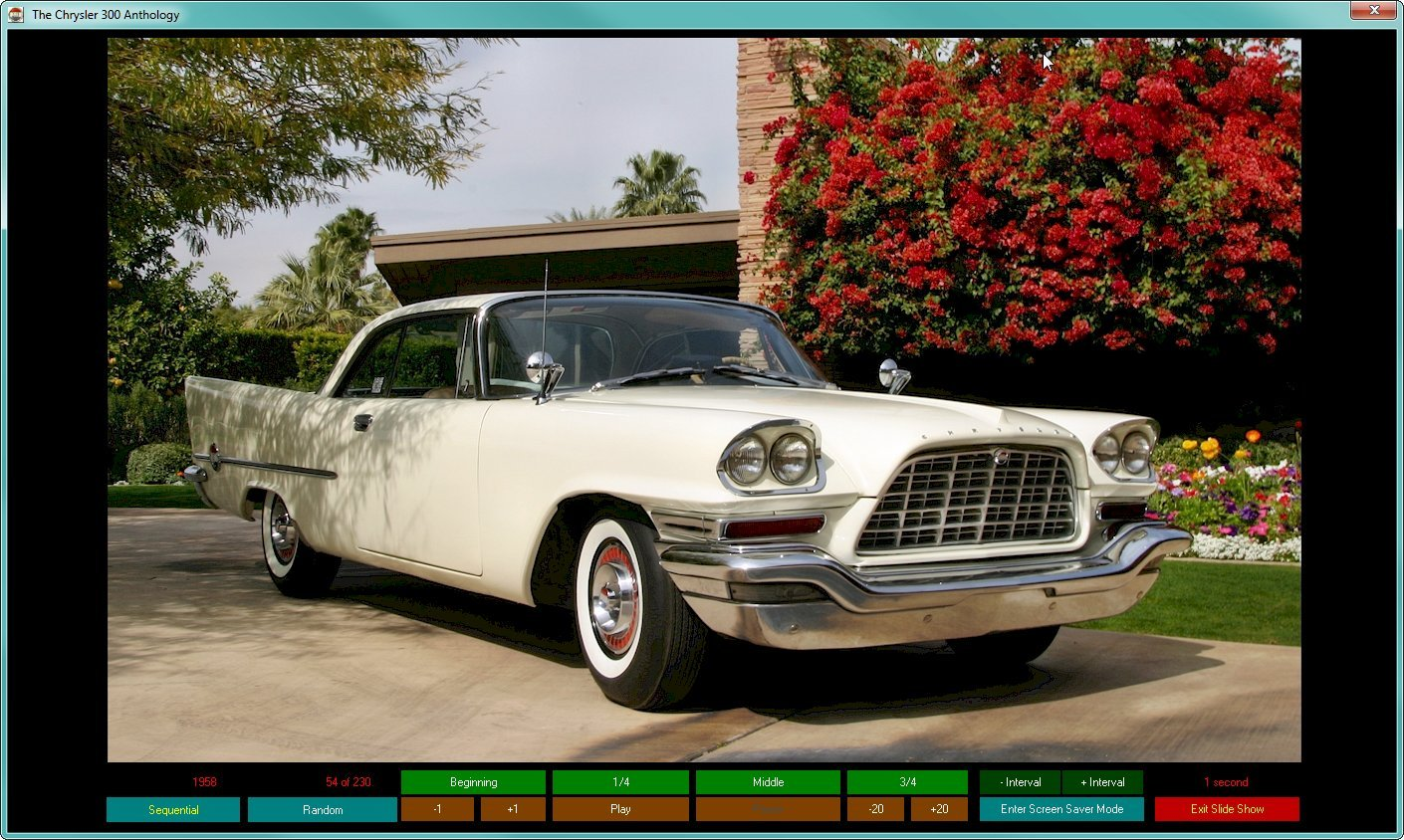 Chrysler 300 Anthology digital encyclopedia