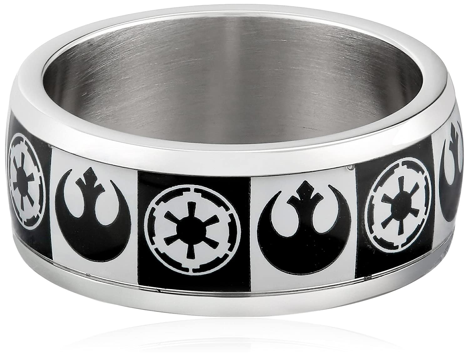 Star Wars Mens Star Wars Ring Rebel Alliance Stainless Steel