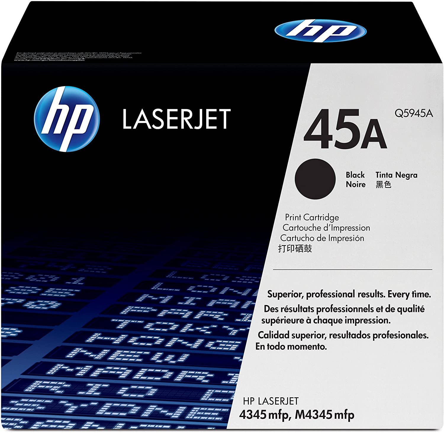 HP 45A | Q5945A | Toner Cartridge | Black