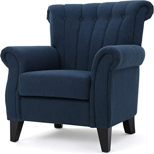 Christopher Knight Home Waldorf Channel Fabric Club Chair