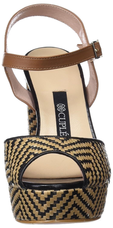Womens Sandalia Teji RAF Grecas Azabache Ankle Strap Sandals Cupl eVClt