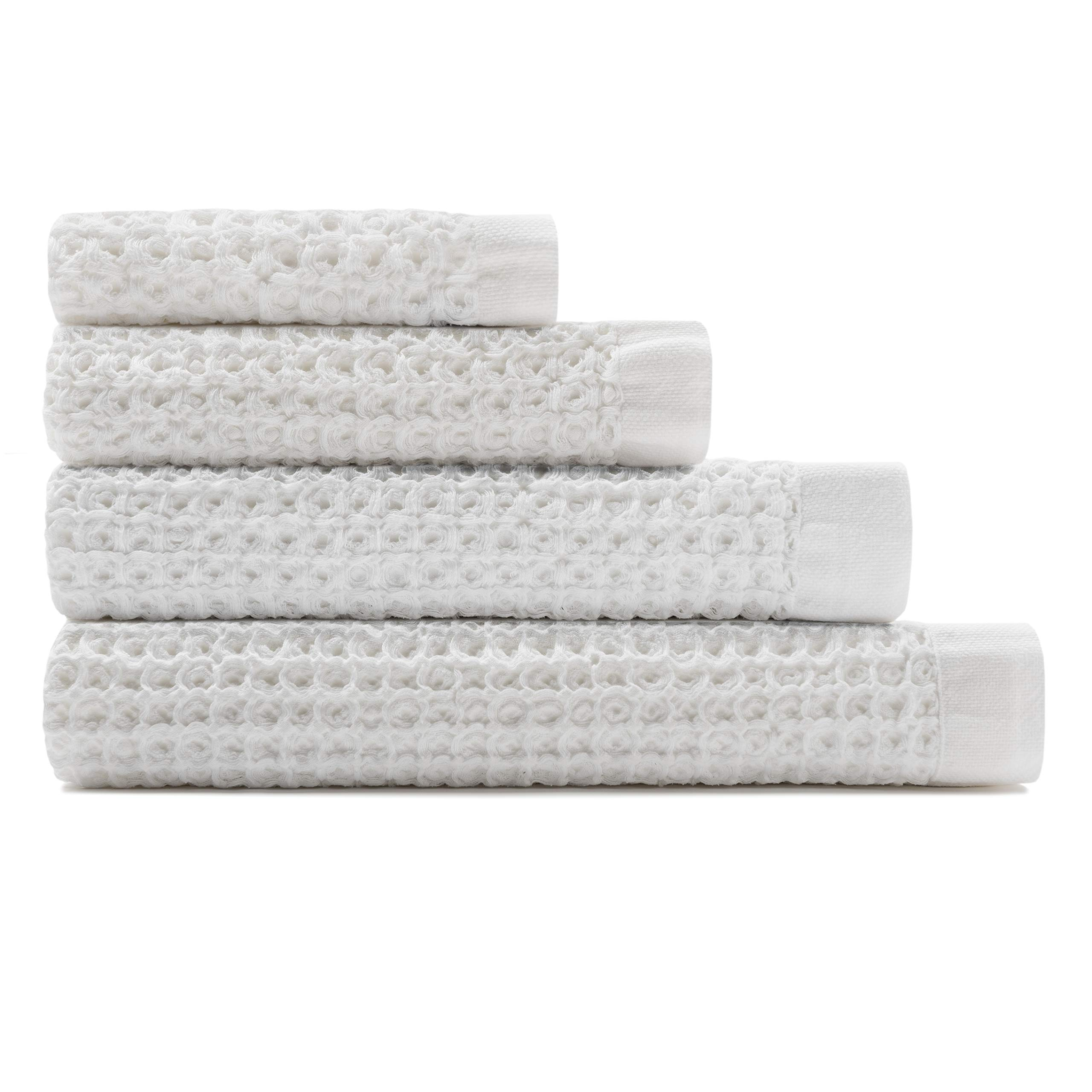 The Onsen Complete Set - 100% Supima Cotton, Lightweight, White
