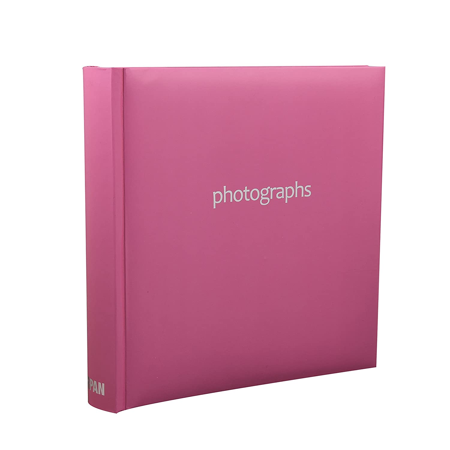 Arpan 10 x 15 cm Hot Pink Memo Album for 200 Photos SM200PK
