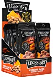 Legendary Foods Cheddar Bacon Seasoned Keto Almonds - Low Carb Paleo Nuts - Natural & Organic Food - Quick, Healthy, Nutritious, Sugar Free Snack - Gluten Free (1.5oz - 12 pack)