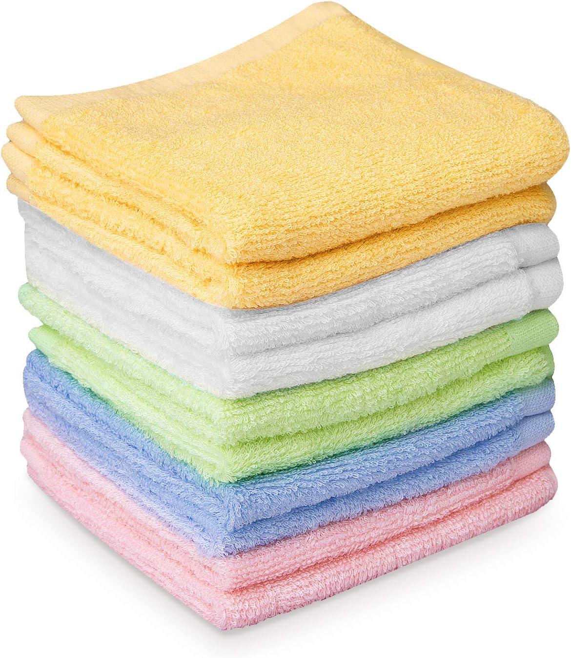 10 Asciugamani Bambini Colorati