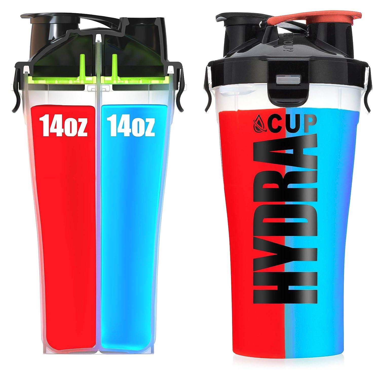 amazon com hydra cup dual threat shaker bottle 28 ounce shaker