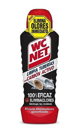 WC Net Limpia Tuberías con Carbón Activo, Compuesto, 24.5x8.6x7.1 cm: Amazon.es: Bebé