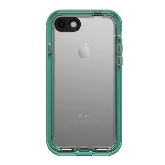 super popular 69e9a 933d4 LifeProof NÜÜD SERIES Waterproof Case for iPhone 7 (ONLY) - Retail  Packaging - MERMAID (SOFT MINT/TALISIDE TEAL/CLEAR)