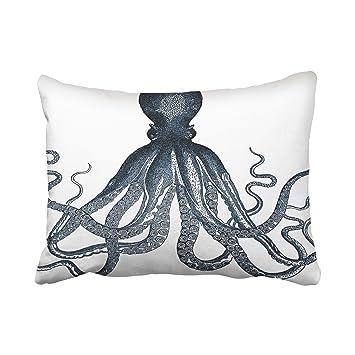Amazon.com: accrocn fundas de almohada Navy Nautical Signle ...