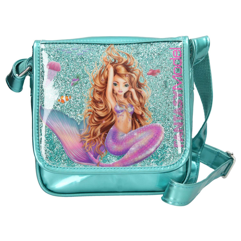 Depesche Bolso Bandolera 10389 Fantasy Model Mermaid 20 x 20 x 6 cm Aprox Turquesa Multicolor