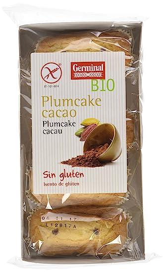Germinal Plumcake de Cacao Sin Gluten - Paquete de 9 x 180 ...