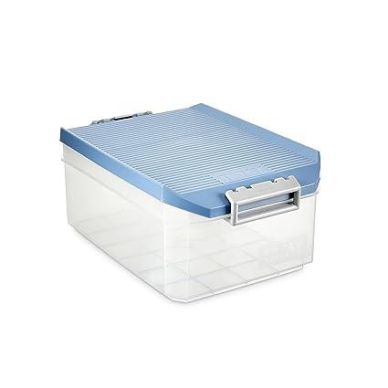 TATAY 1150207 Caja de Almacenamiento Multiusos con Tapa, 4.5l de Capacidad, Plástico Polipropileno