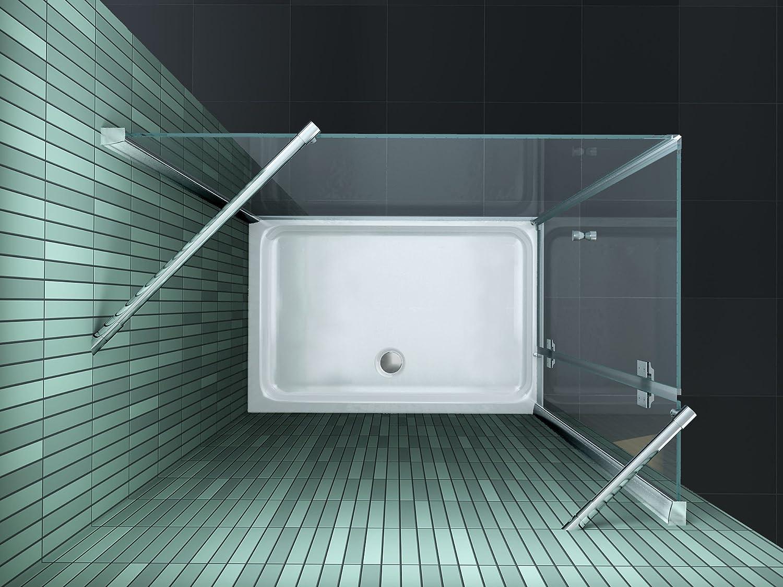 duschkabine sill s 120 x 80 cm ohne duschtasse amazonde baumarkt - Dusche 80 X 120 Cm