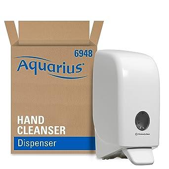 Aquarius 6948 Dispensador de Gel de Manos, 1 L, Blanco