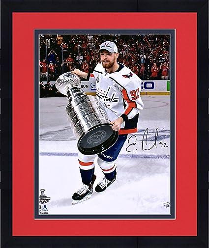 Framed Evgeny Kuznetsov Washington Capitals 2018 Stanley Cup Champions  Autographed 16 quot  x 20 quot  Raising 3bd765269