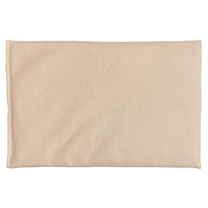Saco térmico de semillas 30x20cm (algodón orgánico blanco natural ...