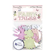 Dovecraft Premium Fairy Tales Paper Blossoms, Multicolour, 1