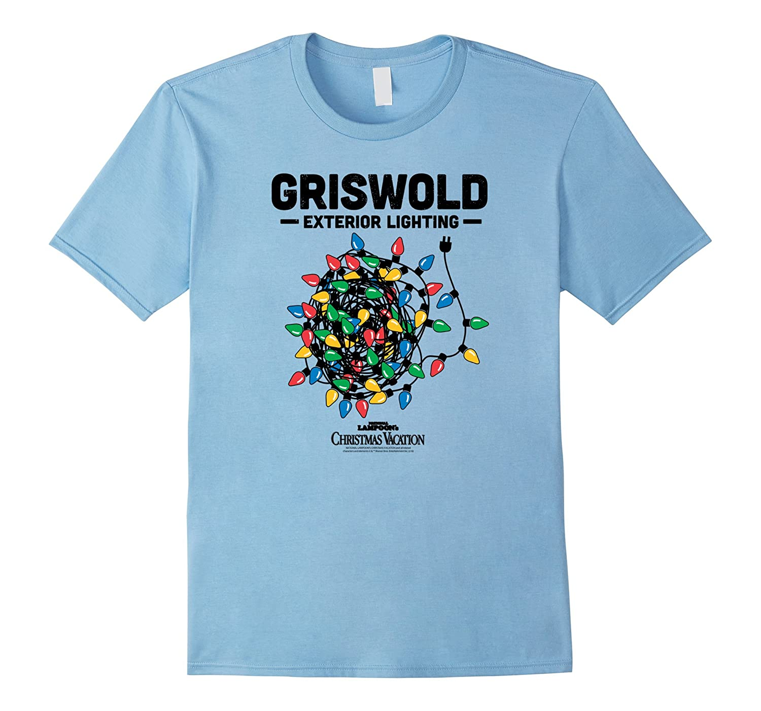 Christmas Vacation Shirts.Christmas Vacation Griswold Exterior Lighting T Shirt Bn