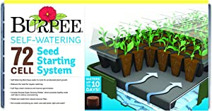 Burpee Self-Watering Seed Starter Tray, 72 Cells