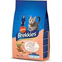 BREKKIES EXCEL alimento para gatos sabor salmón y atún bolsa 4 kg