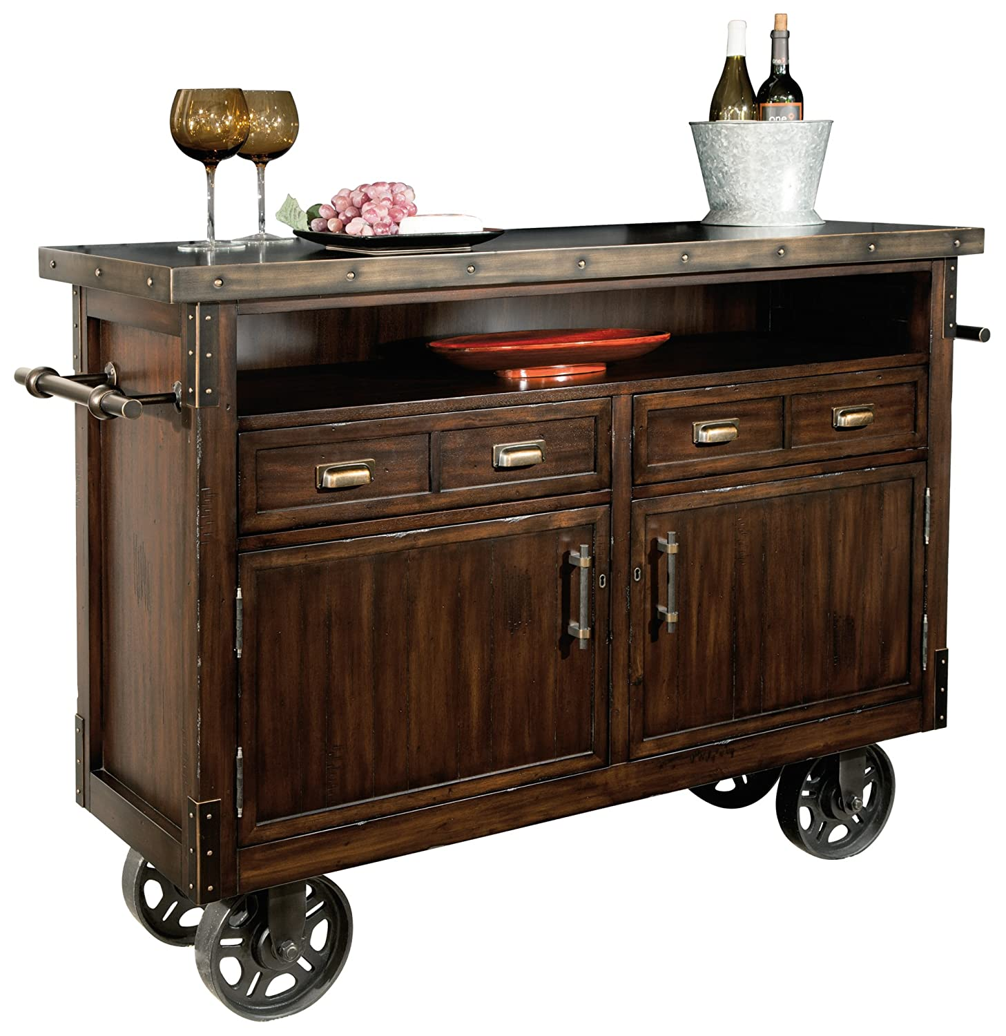 Amazon com howard miller barrow wine and bar storage console kitchen dining