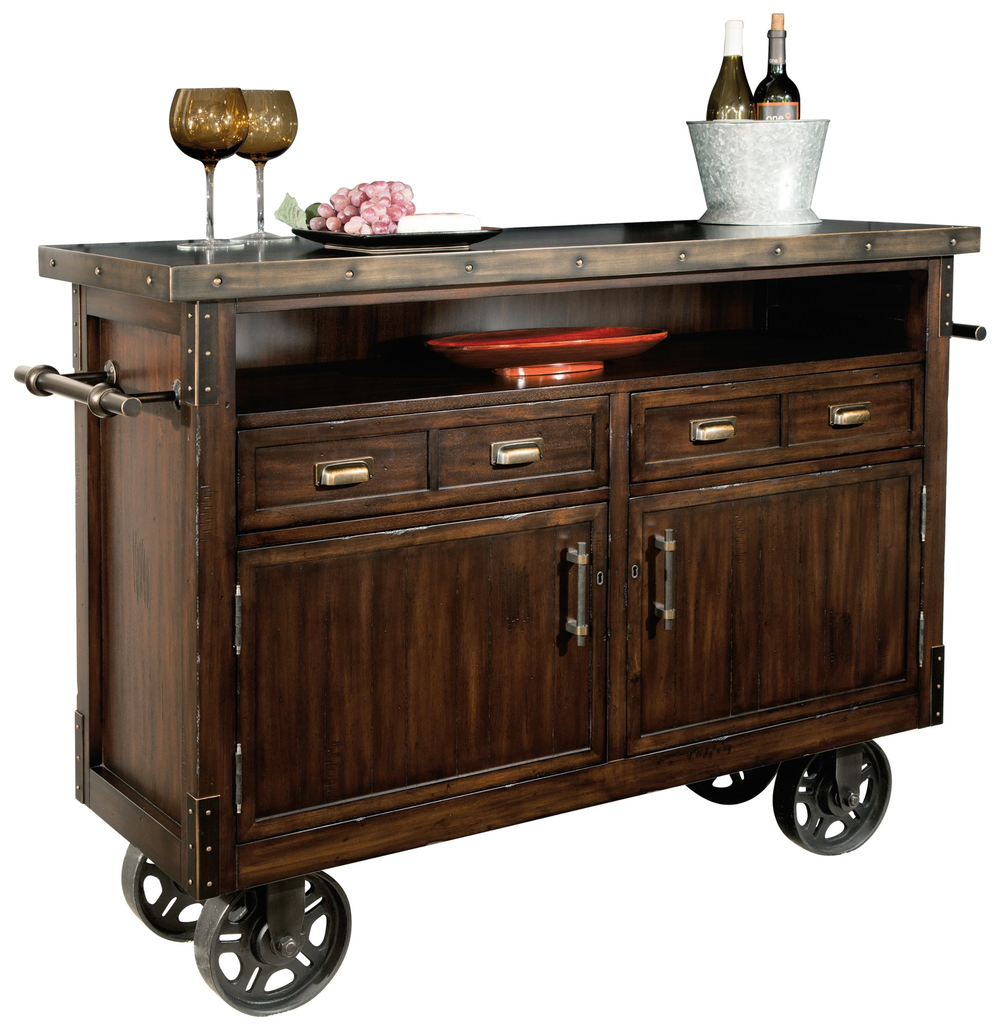 Howard Miller Barrow Wine and Bar Storage Console by Howard Miller