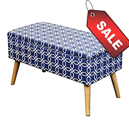 Wondrous Amazon Com Efd Storage Ottoman With Legs Box Convenient Unemploymentrelief Wooden Chair Designs For Living Room Unemploymentrelieforg