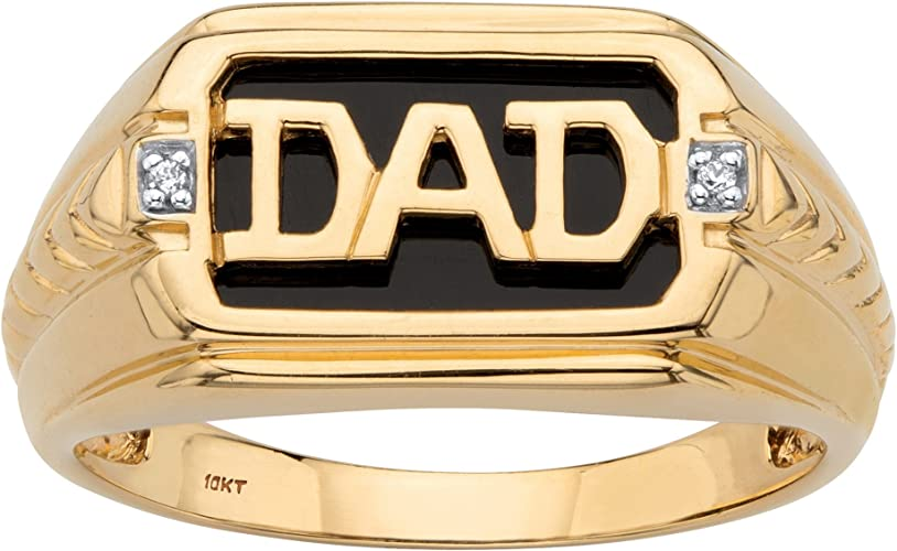 NEW 10K YELLOW SOLID GOLD 17 MM LONG INITIAL RING 10KT RING I-99
